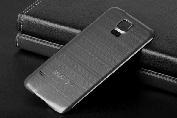 Metal-Brush-Case-For-Samsung-Galaxy-S5-Aluminum-Battery-Back-Cover-11