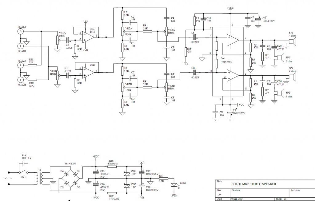 схема микролаб соло 2