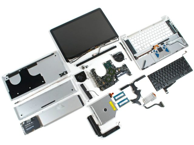 Как разобрать ноутбук