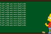 bad code
