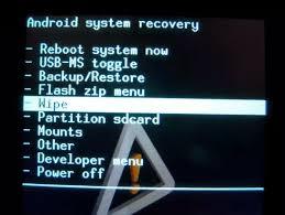 перепрошить Android