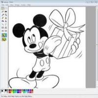 Создание нового рисунка в Paint