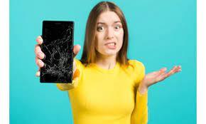 у смартфона разбился экран
